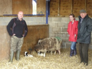 Participants with lambs born during the course