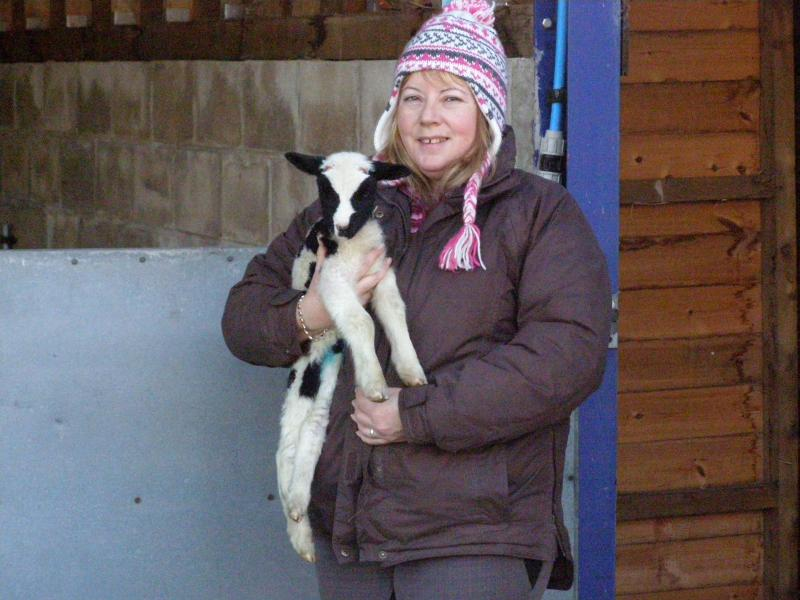 First lamb of 2010